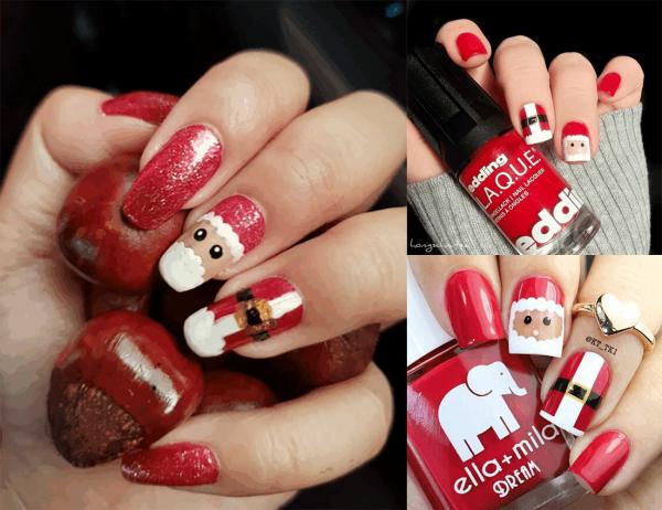 3 Easy Nail Art Designs For Christmas 2018 Stylish Belles