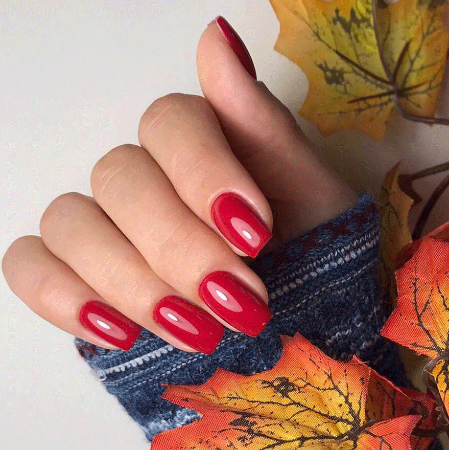 Gorgeous Winter Red Nail Art Designs | Stylish Belles |