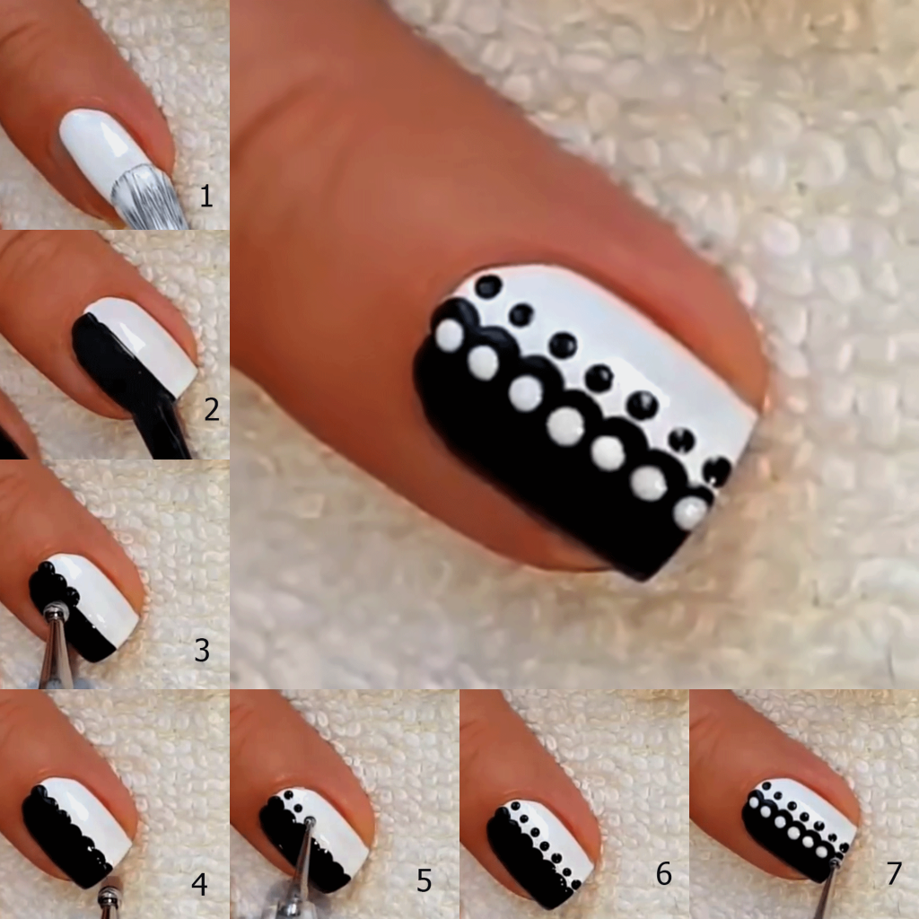 Nail Art Designs For Beginners At Home: 5 Easy Nail Art Designs For Beginners At Home
