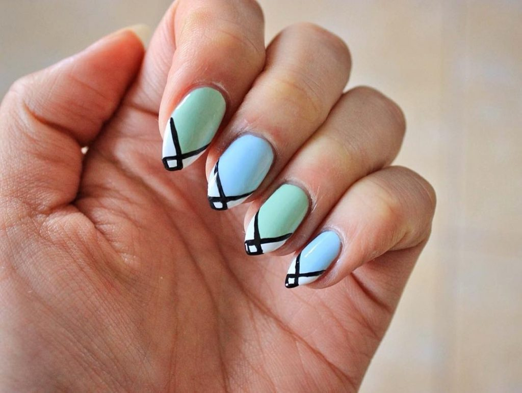 3 Simple Nail Art Designs For Spring 2018 Stylish Belles