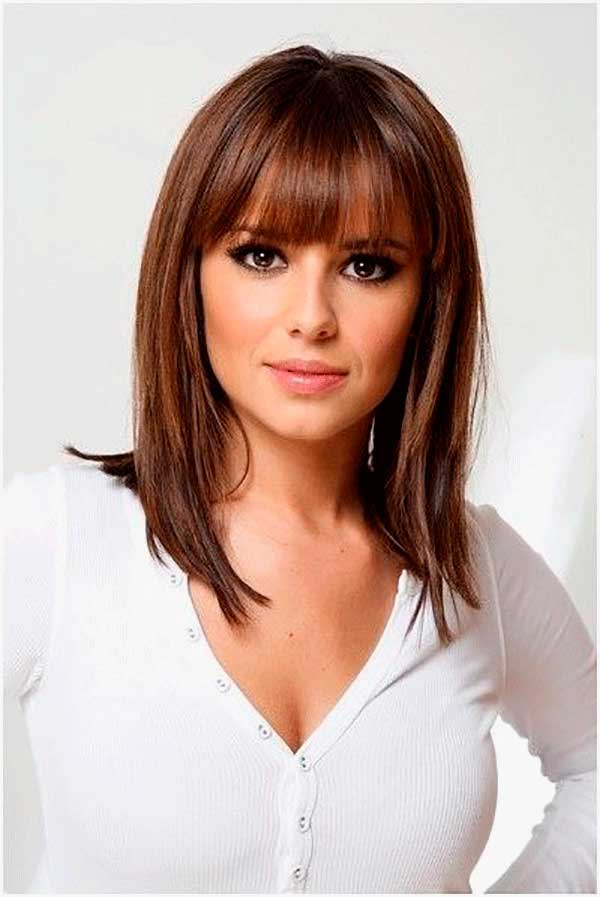 Layered Hair With Bangs For Thin Hair 28