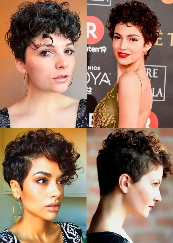 how to pixie cut curly hair