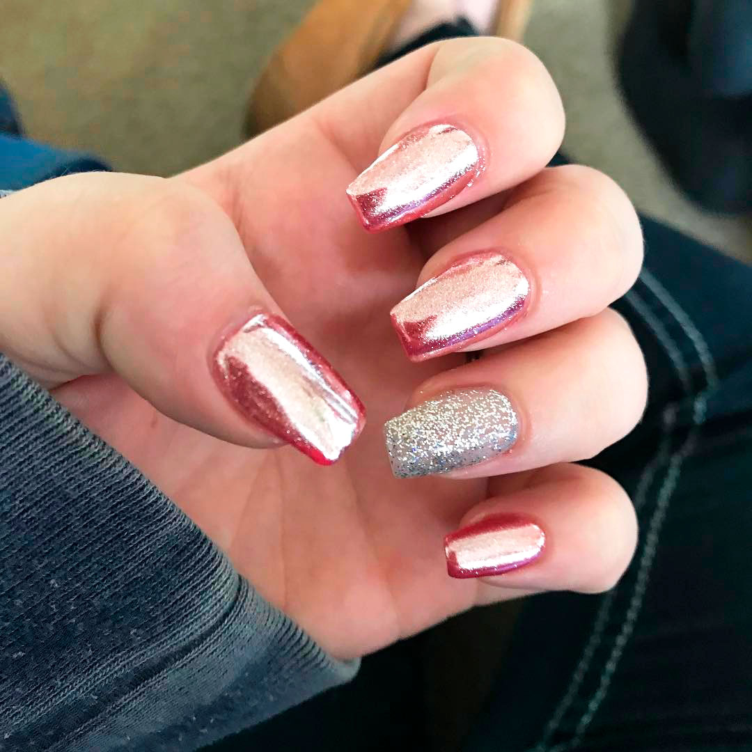 The Best Chrome Nail Ideas To Copy Stylish Belles