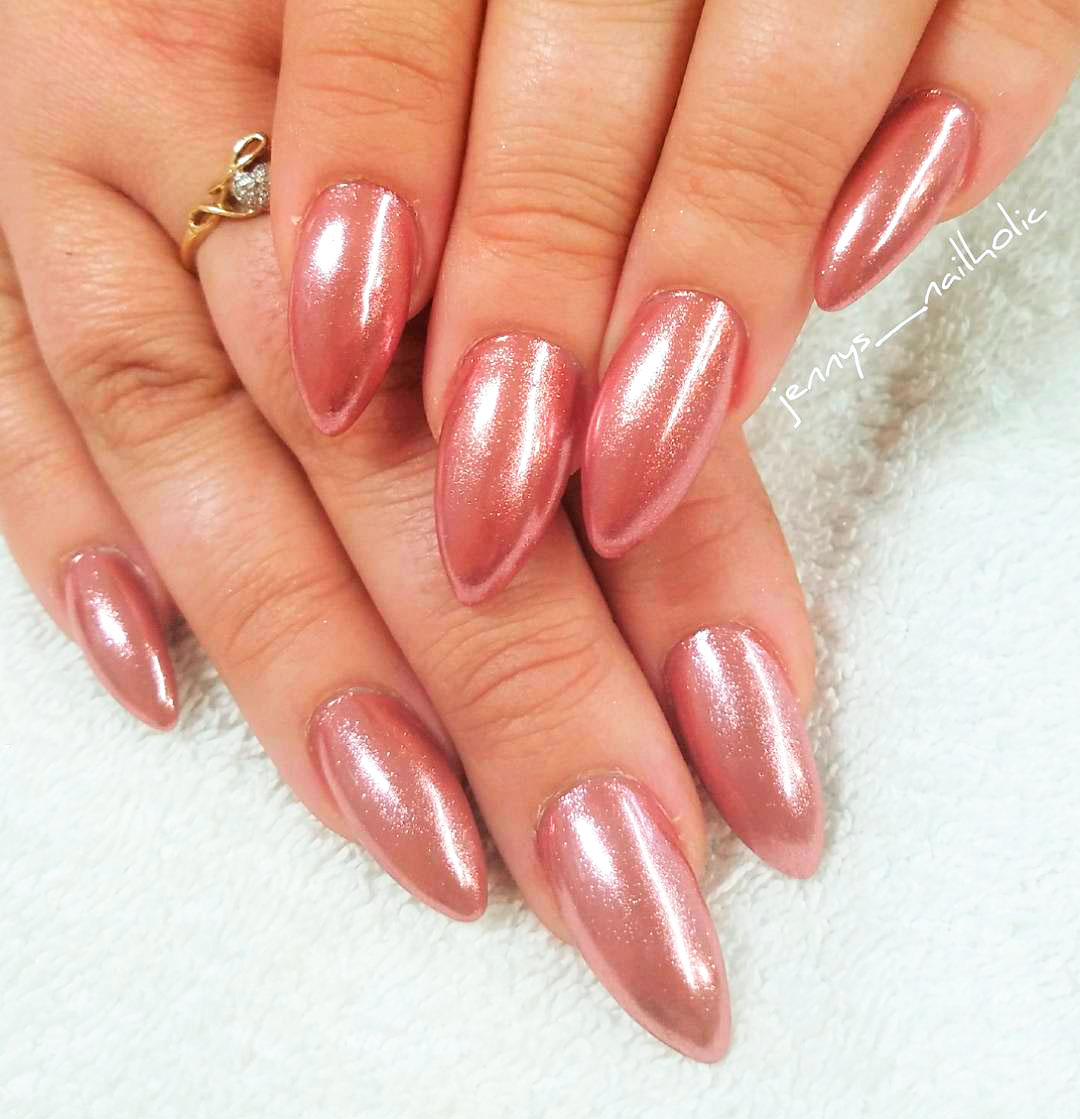 The Best Chrome Nail Ideas to Copy | Stylish Belles