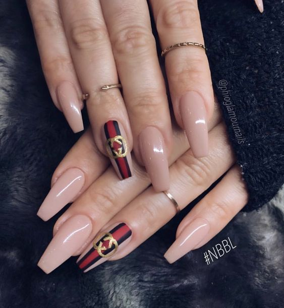 Wonderful Gucci coffin nails