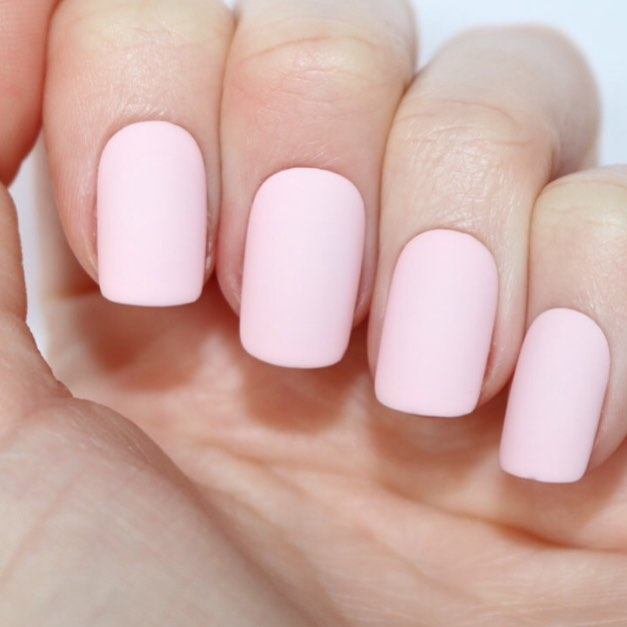 Amazing Short Light Pink Acrylic Nails Squoval Designs