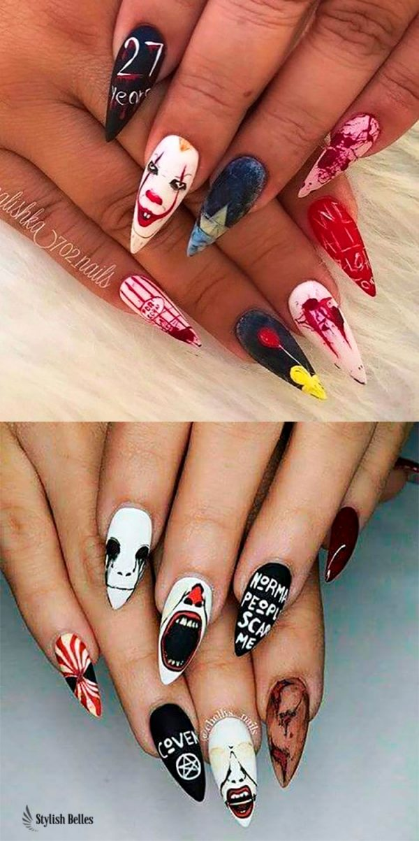 So Beautiful Halloween Press on Nails!