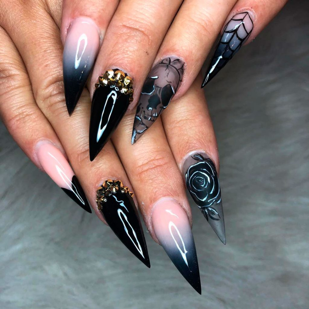 The Best Halloween Nail Designs in 2018 | Stylish Belles