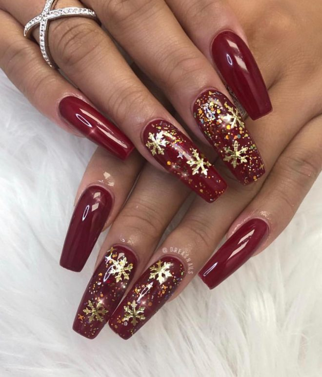 Christmas Nails Not Red: The Cutest And Festive Christmas Nail Designs For Celebration