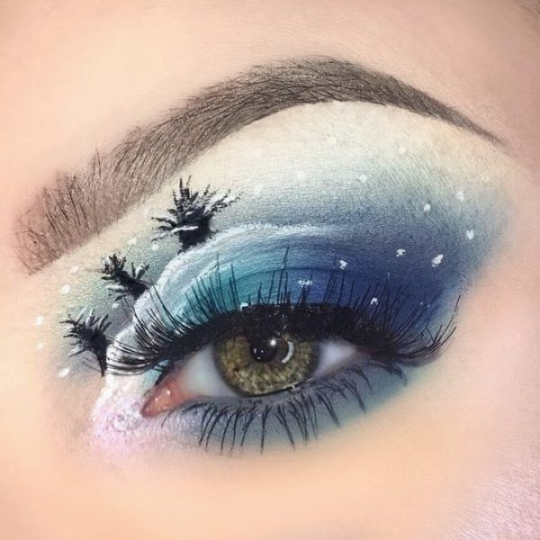 Christmas Makeup Looks Latest Trends 2018 Stylish Belles - Christmas-makeup