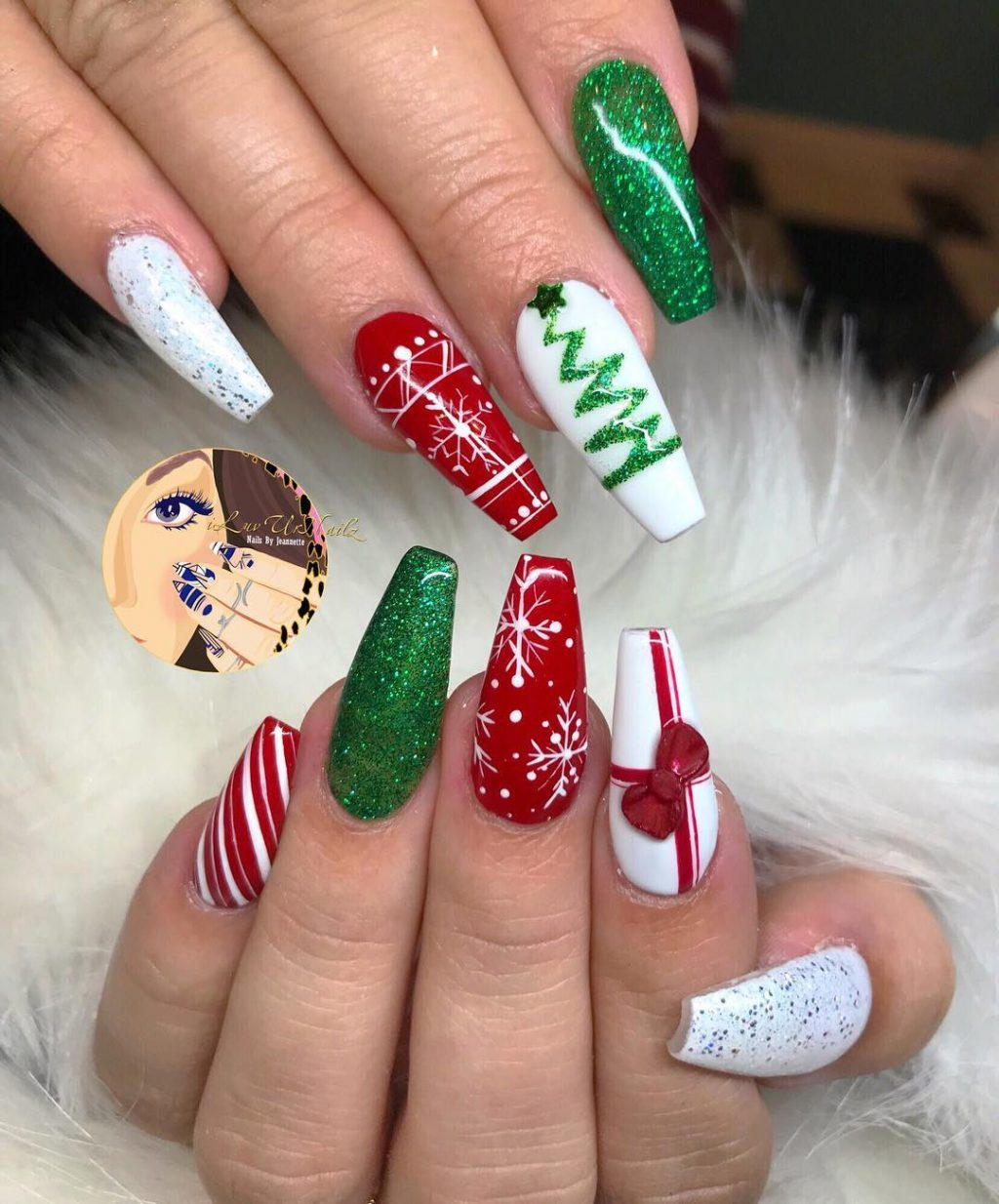 Xmas Nail Patterns: The Cutest And Festive Christmas Nail Designs For Celebration