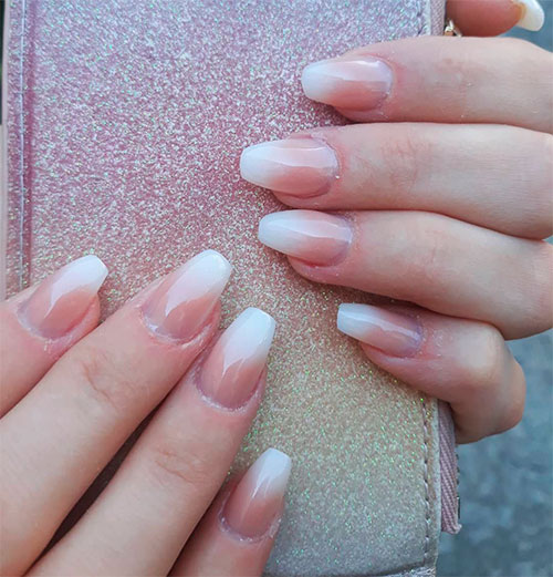 How To Do Ombre Nail Polish: How To Do French Ombre Nails With Gel Polish