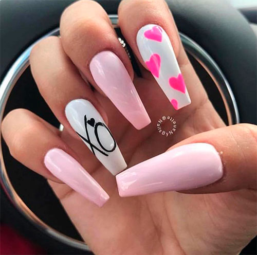 The Best Valentine\'s Day Nails Right Now! | Stylish Belles