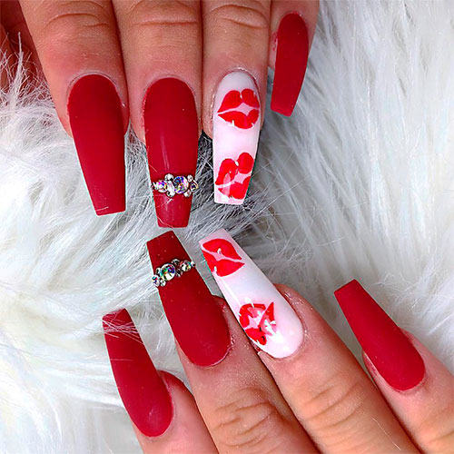 The Best Valentines Day Nails Right Now Stylish Belles