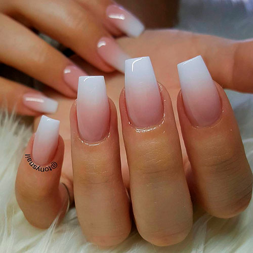 How To Do French Ombre Dip Nails Stylish Belles