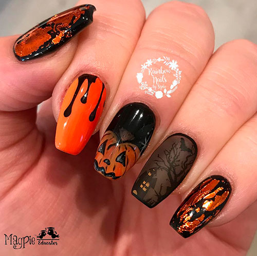 Best Halloween Nail Ideas in 2019 | Stylish Belles