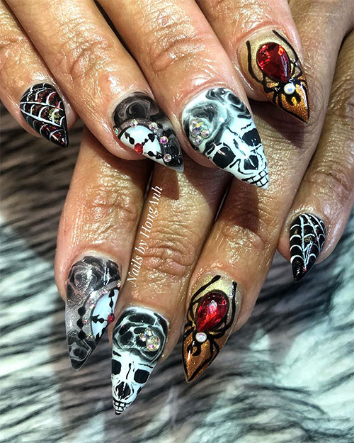 Best Halloween Nail Ideas in 2019 | Stylish Belles