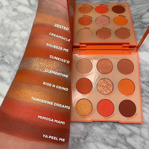 Colourpop Orange You Glad Palette Stylish Belles