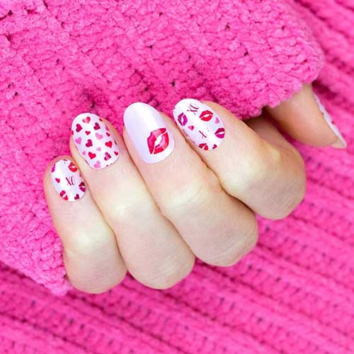 Color Street Valentine\u0027s Day Nails 2020
