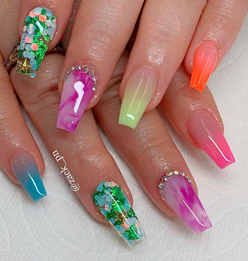 22 Cute Ombre Summer Nails 2020 Ideas Stylish Belles